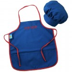 Blue Chef Apron & Hat
