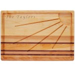 Integrity Board Sunburst Carving Board