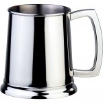 Dortmund 16oz Polished Stainless Steel Beer Mug