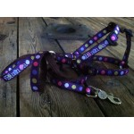 """The 5/8"""" Personalized Dog Harness"""