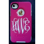 2 inch high Monogram Decal (1 piece)