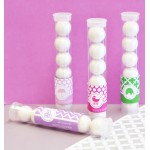 MOD Pattern Personalized Baby Candy Tubes