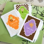 Personalized Fall Notebook Favors