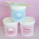 """Babies are Sweet"" Mini Ice Cream Containers"