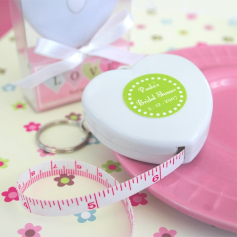 """""""Measure Up Some Love"""" Heart Tape Measure"""