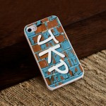 Graffiti iPhone Case with White Trim