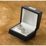 Personalized Silver Plated Cufflinks