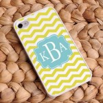 """Breezy Sunshine"" Chevron iPhone Case"