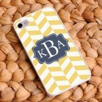 """Coastal Classic"" Chevron iPhone Case"