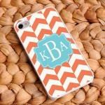 """Pretty Popsicles"" Chevron iPhone Case"