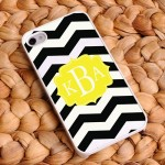 """Bikini Ready"" Chevron iPhone Case"
