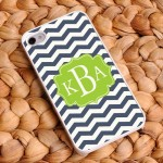 """Preppy Sailor"" Chevron iPhone Case"