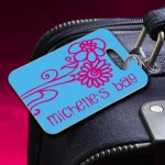 Personalized Bon Voyage Luggage Tags