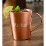 Personalized Copper Plated Moscow Mule Mug