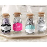 """Vintage"" Milk Favor Jar - Wedding (Set of 12) (Available Personalized)"