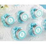 Mini Glass Favor Jar - Wedding (Set of 12) (Available Personalized)