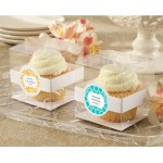 Cupcake Boxes - Wedding (Set of 12) (Available Personalized)
