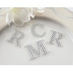 """Jeweled"" Monogram Letters (Set of 24)"
