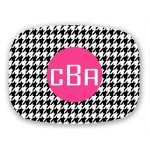 Houndstooth Personalized Platter