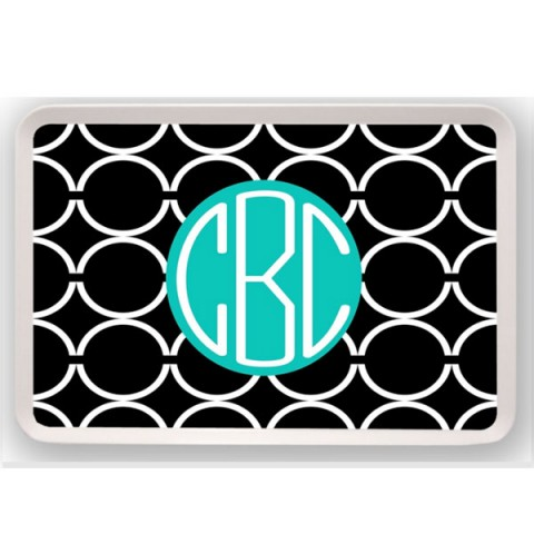 Ovals Personalized Tray