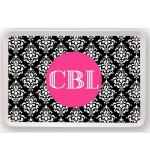 Damask Personalized Tray