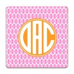 Coco Monogrammed Coaster Set of 4