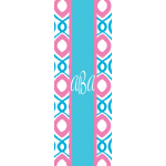 Monogrammed Happy Yoga Mat