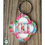Lucky Greek Layered Keychain