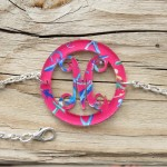 Bordered Monogram Bracelet – Francesca Joy