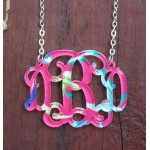 Floating Monogram Necklace – Francesca Joy