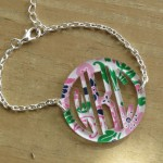 Bordered Monogram Bracelet – Mary Beth Goodwin