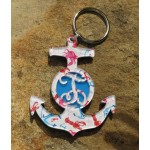 Layered Anchor Keychain – Francesca Joy