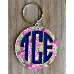 Layered Monogram Keychain – Mary Beth Goodwin
