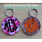 Layered Monogram Keychain – 2014 Seasonal
