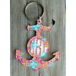 Layered Anchor Keychain – Mary Beth Goodwin