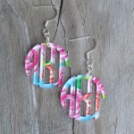 Monogram Earrings – Mary Beth Goodwin