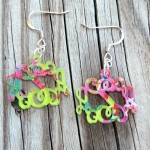 Monogram Earrings – 2014 Seasonal