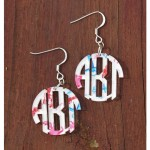 Monogram Earrings – Francesca Joy