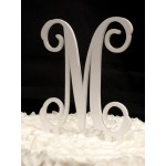 Monogram Cake Topper – Single Letter