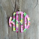 Pendant Monogram Necklace – Mary Beth Goodwin