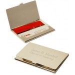 Engraved Executive Business Card Case