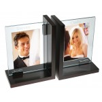 Personalized Wood Bookend Picture Frame