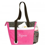 Embroider Stylish Mini Cooler Tote Bag