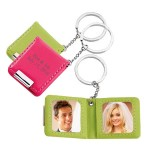 Double Photo Frame Magnetic Key Holder