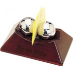 Personalized Chinese Therapy Balls and Memo Clip Holder