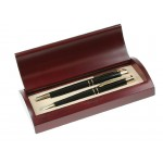 Personalized Ball Pen and Roller Ball Pen Set