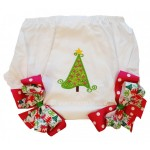 Bloomers Diaper/Pantie Cover-Christmas Tree