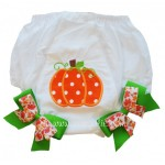 Bloomers Diaper/Pantie Cover- Pumpkin
