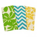Monogram Fabric Tea Towels