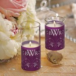 Flourish Monogram Mini Luminary Wrap